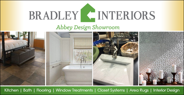 Bradley Interiors Abbey Design Showroom - Kitchen - Bath - Flooring - Window Treatments - Closet Systems - Area Rugs - Interior Design