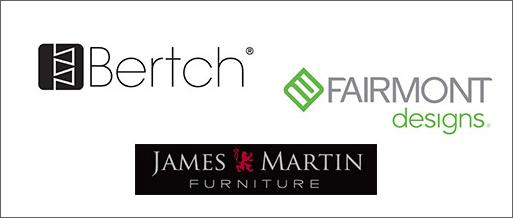 Vanity Manufacturers - Bertch, Fairmont Designs, James Martin Furniture