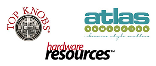 Cabinet Hardware Manufacturers - Top Knobs, Atlas Homewares, Hardware Resources