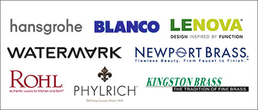 Faucet Manufacturers - Hansgrohe, Blanco, Lenova, Watermark, Newport Brass, Rohl, Phylrich, Kingston Brass