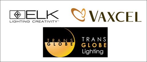Lighting Manufacturers - Elk Lighting, Vaxcel, Trans Globe Lighting